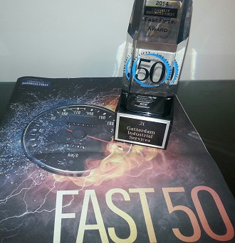 Fast 50 Award for GIS